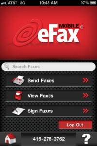 eFax Mobile App