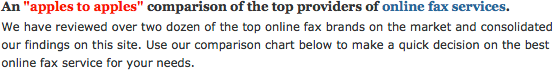 News FaxCompare Updates Reviews For One Third Of Internet Fax Providers