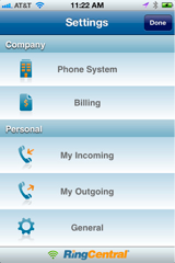 RingCentral Mobile Fax App