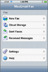 MaxEmail Mobile App